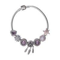 خرید                     دستبند نقره زنانه پاندورا کد BNG479S0