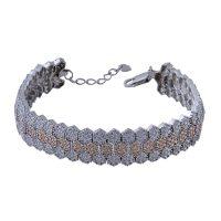 خرید                       دستبند نقره زنانه بازرگانی میلادی کد DP_181