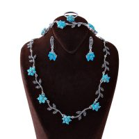 خرید                      ست نقره زنانه بازرگانی میلادی کد NTR_156