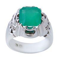 خرید                      انگشتر نقره مردانه بازرگانی میلادی کد AM_633