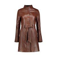 خرید                     کت چرم زنانه شیفر مدل 2702S-03