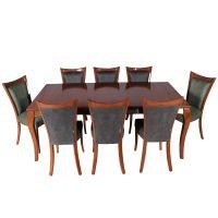 خرید                     میز و صندلی ناهار خوری چوبکو کد 105