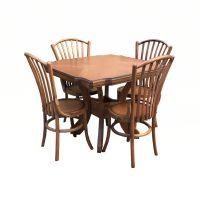 خرید                     میز و صندلی ناهار خوری اسپرسان چوب مدل z07