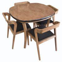 خرید                     میز و صندلی ناهار خوری کد  z02