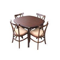 خرید                     میز و صندلی ناهار خوری اسپرسان چوب مدل SM28