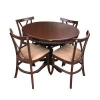 خرید                     میز و صندلی ناهار خوری اسپرسان چوب مدل SM22
