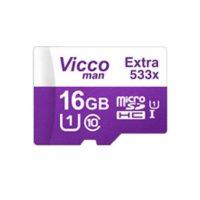 خرید                     کارت حافظه microSDHC ویکو من مدل Extra 533X کلاس 10 استاندارد UHS-I U1 سرعت 80MBps ظرفیت 16 گیگابایت