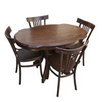خرید                     میز و صندلی ناهار خوری اسپرسان چوب مدل SM30