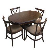 خرید                     میز و صندلی ناهار خوری اسپرسان چوب مدل SM31