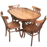 خرید                     میز و صندلی ناهار خوری اسپرسان چوب مدل SM34