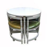 خرید                     میز و صندلی ناهار خوری اسپرسان چوب مدل Sm39