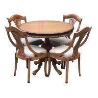 خرید                     میز و صندلی ناهار خوری اسپرسان چوب مدل Sm41