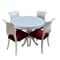 خرید                     میز و صندلی ناهار خوری اسپرسان چوب مدل Sm48