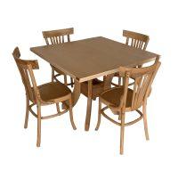 خرید                     میز و صندلی ناهار خوری اسپرسان چوب کد Sm52