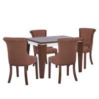 خرید                     میز و صندلی ناهار خوری  مدل جاسمین کد 28