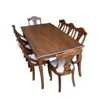 خرید                     میز و صندلی ناهار خوری اسپرسان چوب کد Sm62