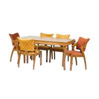 خرید                     میز و صندلی ناهار خوری مدل ایوان کد 026
