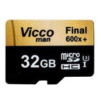 خرید                     کارت حافظه microSDHC ویکومن مدل Extra 600X کلاس 10 استاندارد UHS-I U3 سرعت 90MBps ظرفیت 32 گیگابایت