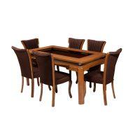 خرید                     میز و صندلی ناهار خوری مدل استاین کد 025