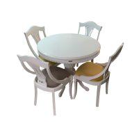 خرید                     میز و صندلی ناهار خوری اسپرسان چوب کد Sm63