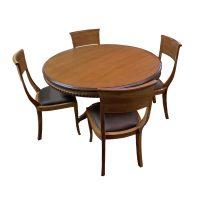 خرید                     میز و صندلی ناهار خوری اسپرسان چوب کد Sm64