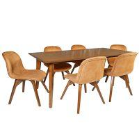 خرید                     میز و صندلی ناهار خوری چوبکو مدل 690