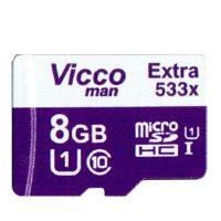 خرید                     کارت حافظه microSDHC ویکو من مدل Extre 533X کلاس 10 استاندارد UHS-I U1 سرعت80MBpsظرفیت 8 گیگابایت