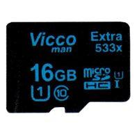 خرید                     کارت حافظه microSDHC مدل Extra 533x  کلاس 10 استاندارد UHS-I U1 سرعت 80MBps ظرفیت 16 گیگابایت