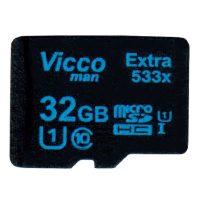 خرید                     کارت حافظه microSDHC ویکومن مدل Extre 533X کلاس 10 استاندارد UHS-I U1 سرعت80MBps ظرفیت 32 گیگابایت
