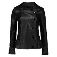 خرید                     کت چرم زنانه شیفر مدل 2707-01