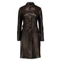 خرید                     کت چرم زنانه شیفر مدل 2706-02