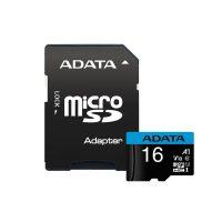 خرید                     کارت حافظه microSDHC ای دیتا مدل Premier کلاس 10 استاندارد UHS-I U1 سرعت 100MBps ظرفیت 16 گیگابایت به همراه آداپتور SD