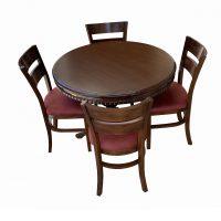 خرید                     میز و صندلی ناهار خوری اسپرسان چوب کد Sm75