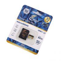 خرید                     کارت حافظه microSDHC ویکو من مدل Extre600X کلاس 10 استاندارد UHS-I U3 سرعت 90MBps ظرفیت 32گیگابایت همراه با آداپتور SD