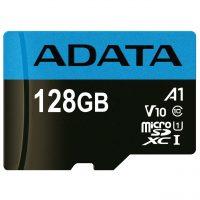 خرید                     کارت حافظه microSDXC ای دیتا مدل Premier V10 A1 کلاس 10 استاندارد UHS-I سرعت 100MBps ظرفیت 128 گیگابایت