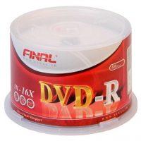 خرید                     دی وی دی خام  فینال مدل DVD-R بسته 50 عددی