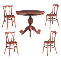خرید                     میز و صندلی ناهار خوری 4 نفره کد 008