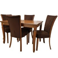 خرید                     میز و صندلی ناهار خوری چوبکو مدل 102