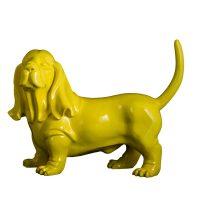 خرید                     مجسمه فردریک لورنز طرح سگ باست هاند کد ST118