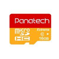 خرید                     کارت حافظه microSDHC پاناتک مدل Extreme کلاس 10 استاندارد UHS-I U1 سرعت 30MBps ظرفیت 16 گیگابایت