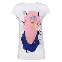 خرید                     تی شرت زنانه آرمانی اکسچنج مدل 3HYTBNYJG3Z-1000