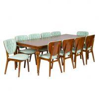 خرید                     میز و صندلی ناهارخوری مدل ماهون کد 1043