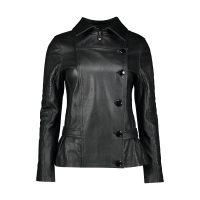 خرید                     کت چرم زنانه شیفر مدل 2707S-01