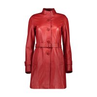 خرید                     کت چرم زنانه شیفر مدل 7w01-9