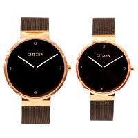 خرید                                     ست ساعت مچی عقربه ای زنانه و مردانه سیتی زن مدل CT RG3368