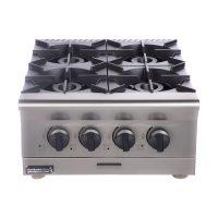 خرید                                     اجاق گاز صنعتی 4 شعله رومیزی مطبخ آرا مدل B02