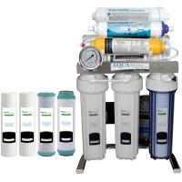 خرید                                      دستگاه تصفیه کننده آب آکوآ اسپرینگ مدل CHROME-SN10 به همراه فیلتر مجموعه  4 عددی