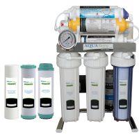 خرید                                      دستگاه تصفیه کننده آب آکوآ اسپرینگ مدل CHROME-A8 به همراه فیلتر مجموعه 3 عددی