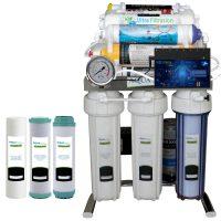 خرید                                     دستگاه تصفیه کننده آب آکوآ اسپرینگ مدل  CHROME - IFUF10 به همراه فیلتر مجموعه 3 عددی