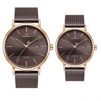 خرید                                     ست ساعت مچی عقربه ای زنانه و مردانه نیوی فورس کد nf3008g-b